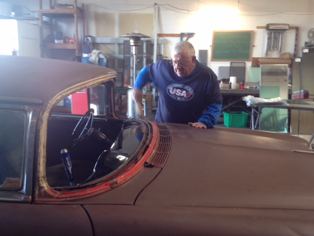 Classic car custom cut rear glass replacement company Sacramento CA