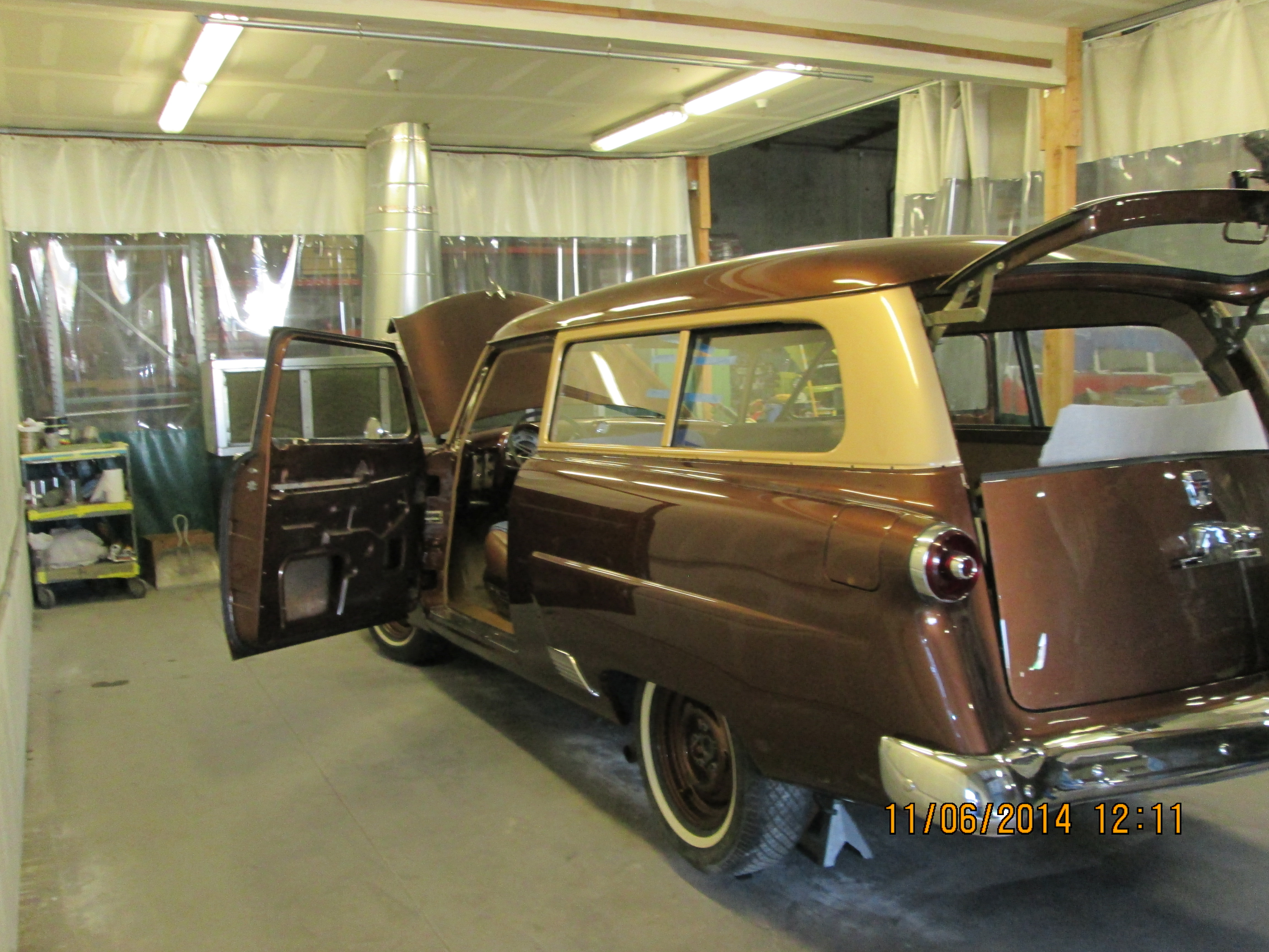 Classic car custom rear and side glass replacement Sacramento CA