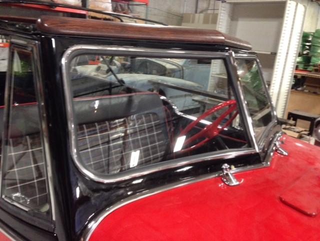 Classic car custom windshield glass replacement Sacramento CA (27)