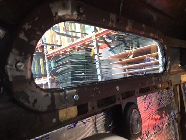 Classic car side glass replacement Sacramento CA