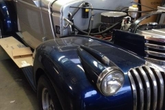 Classic car custom double cut windshield glass replacement Sacramento CA