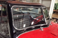 Classic car custom windshield glass replacement Sacramento CA (27)