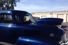 Classic car restored custom cut windshield glass replacement Sacramento CA (2)