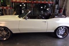 Classic convertible car custom windshield glass replacement Sacramento company CA