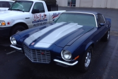 Classic muscle car custom windshield glass replacement Sacramento CA