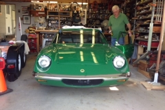 Classic sports car custom windshield glass replacement Sacramento CA