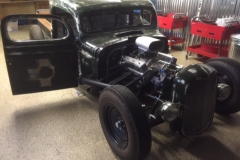 Classic truck custom windshield glass replacement Sacramento CA (2)