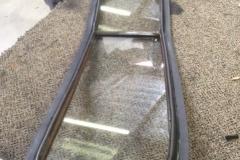 Custom cut glass for a classic car windshield replacement Sacramento CA