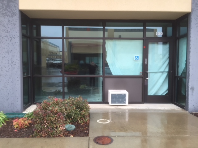 Business Entrance Glass Window and Door Replacement Company in Sacramento California