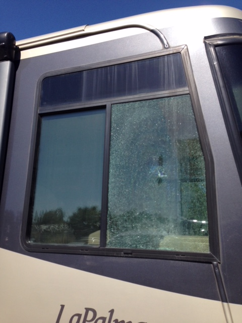 RV Side Window Glass Replacement Company in Sacramento CA