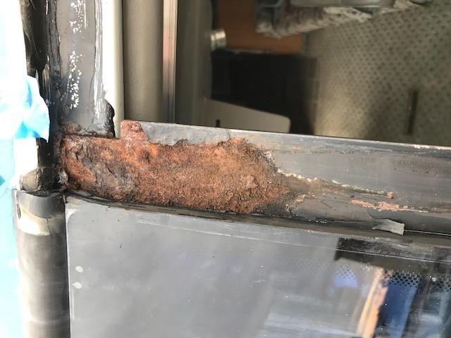 RV Windshield Frame Corrosion Repair Company Sacramento CA