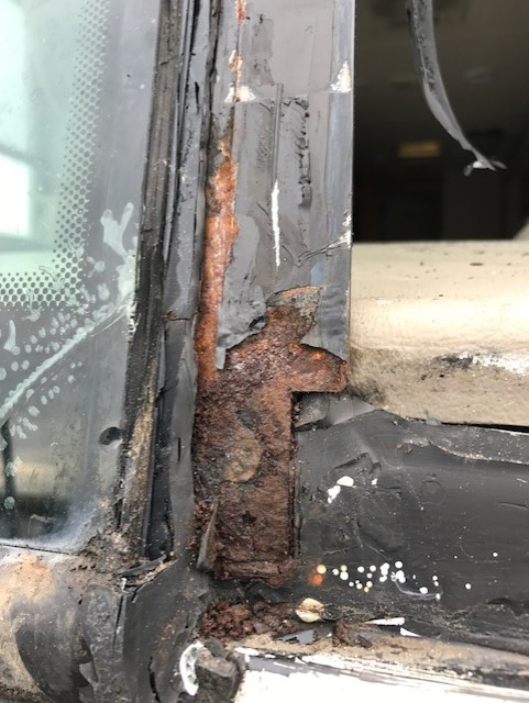 RV Windshield Frame Corrosion Repair Company in Sacramento CA