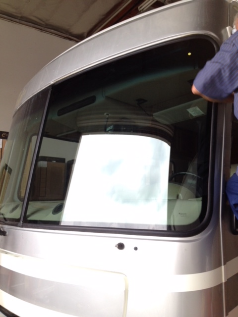RV Windshield Window Glass Replacement Repair Sacramento