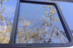 RV Side Window Framed Glass Replacement Company in in Sacramento California