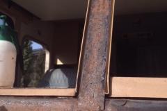 RV Windshield Frame Corrosion Repair Company Sacramento CA area
