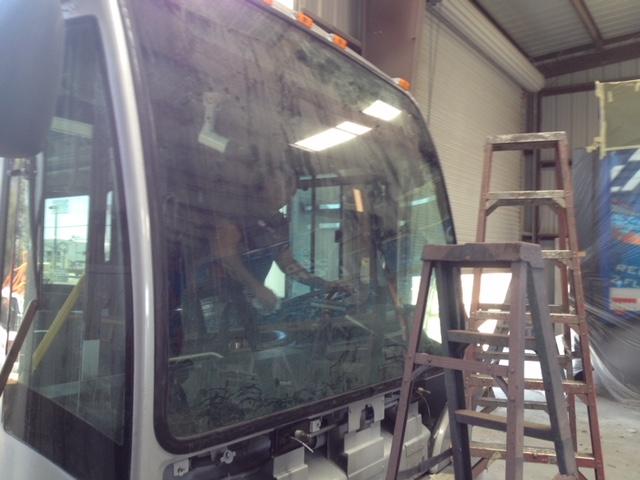 Bus Windshield Replacement Company Sacramento CA