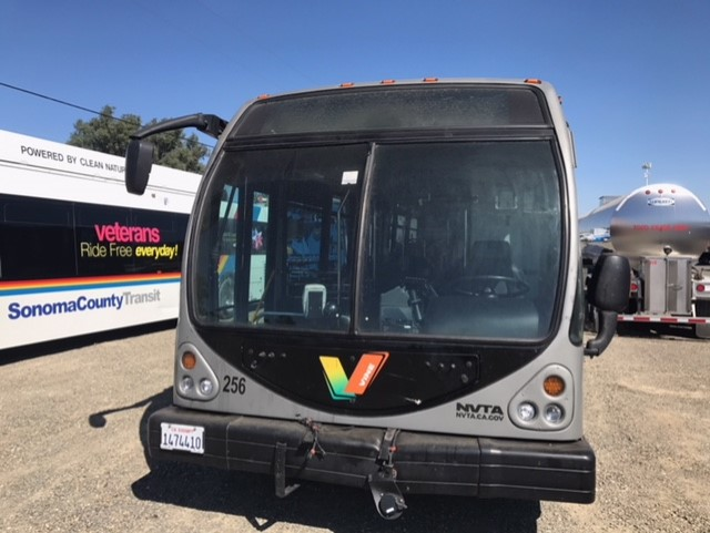 Bus Windshield and Side Window Glass Mobile On Site Replacement Company Sacramento