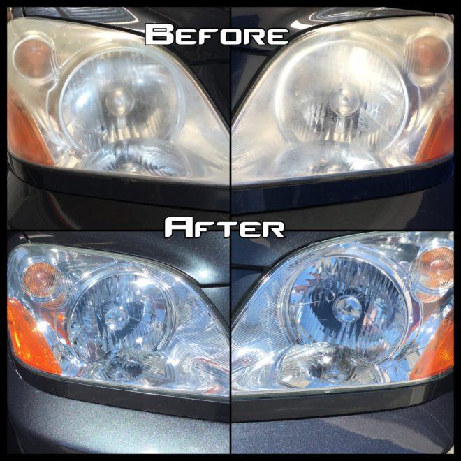 Headlight Restoration Sacramento CA