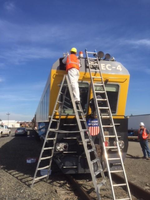 Train window glass replacement company in Auburn Sacramento Roseville Davis
