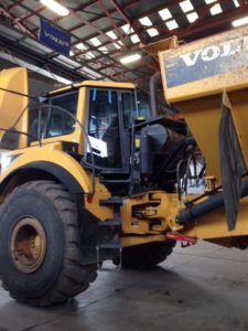 Heavy Construction Equipment Windshield Glass Repair Replacement